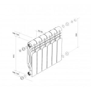 Биметаллические радитоары Revolution Bimetall 350