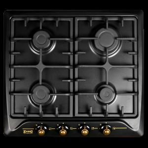 Газовая варочная панель ZorG Technology BP5 D rustical + black (EMY)