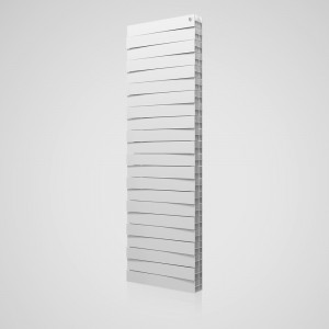 Биметаллические радитоары Piano Forte Tower Bianco Traffico 18 секций