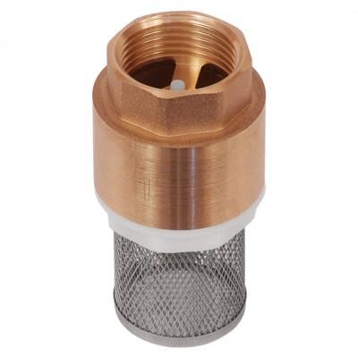 Обратный клапан BRV-1-FILTER с пластиковым клапаном и несъемным фильтром