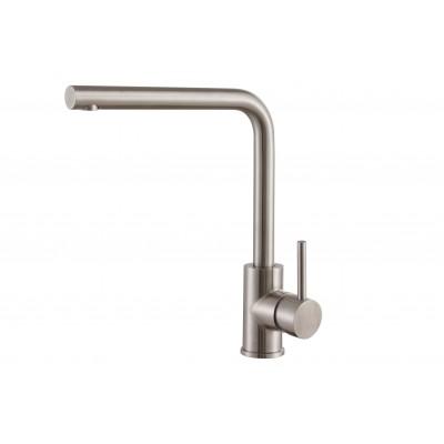 Смеситель для кухни ZorG Steel Hammer SH 7014 D нержавейка