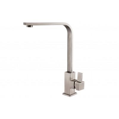 Смеситель для кухни ZorG Steel Hammer SH 7451 нержавейка