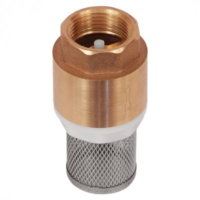 Обратный клапан BRV-3/4-FILTER с пластиковым клапаном