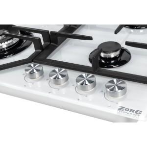 Газовая варочная панель ZorG Technology BP6 FDW white