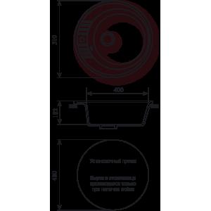 Мойка кухонная GS 05 S 308 черная