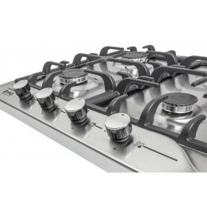 Газовая варочная панель ZorG Technology BP5 FD inox