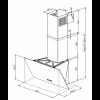 Вытяжка кухонная ZORG TECHNOLOGY ARSTAA 60 М черное стекло