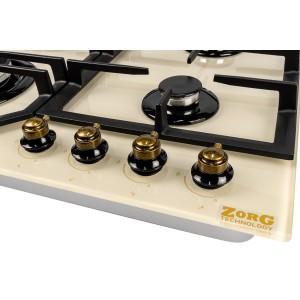 Газовая варочная панель ZorG Technology BP6 FDW rustical + cream
