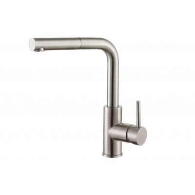 Смеситель для кухни ZorG Steel Hammer SH 6003 нержавейка