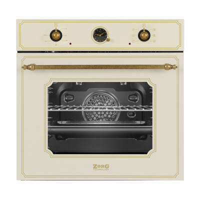 Электрический духовой шкаф ZorG Technology BE6 RST (EMY) cream