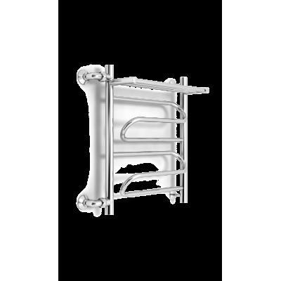 Полотенцесушитель ZorG Bona Plus с полочкой 500/600 L500 левый
