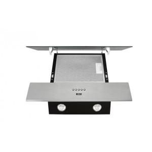 Вытяжка кухонная ZORG TECHNOLOGY Breeze 700 60 M нержавейка + черное стекло