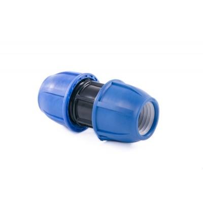 Муфта компрессионная для полиэтиленовых труб 25 (Lammin) 75/1