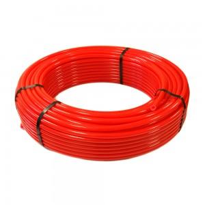 Труба PE-RT 16х2,0мм 200/1 красная