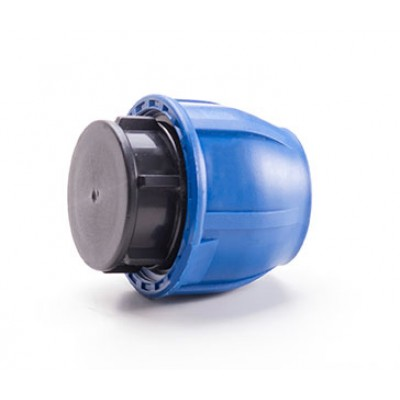 Заглушка компрессионная для полиэтиленовых труб 20 (Lammin) 250/1