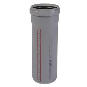 Труба ПП внутренняя канализационная Ostendorf 110x1000x2,2 мм