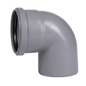 Отвод канализационный 87º 50 Ostendorf ПП для внутренней канализации