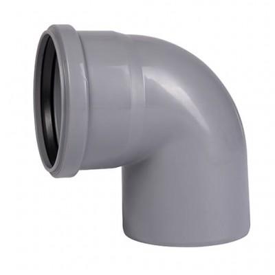 Отвод канализационный 87º 110 Ostendorf ПП для внутренней канализации