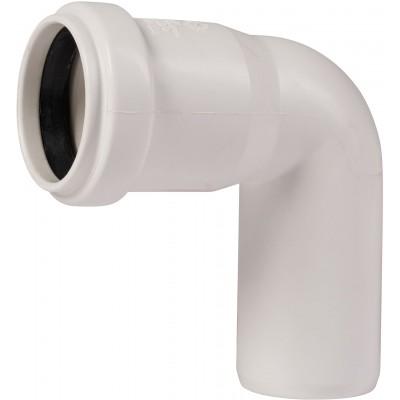 Отвод канализационный 87º 32 Ostendorf ПП для внутренней канализации Белый